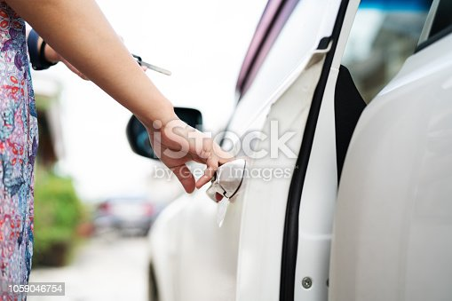 539841066 istock photo car unlocks remote point to open the door 1059046754