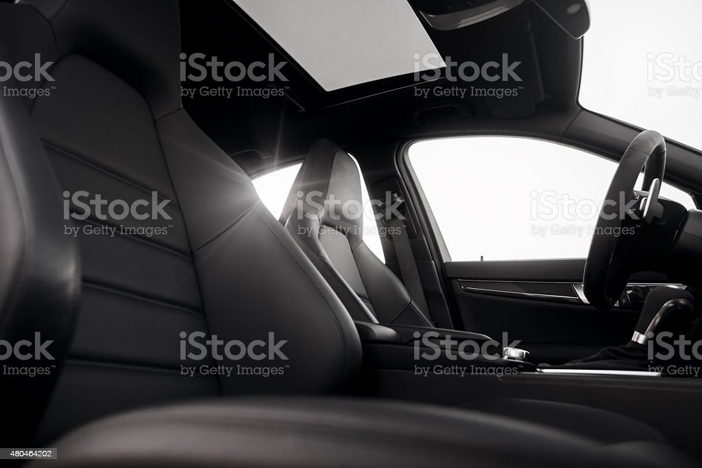 Car vehicle interior stock photo