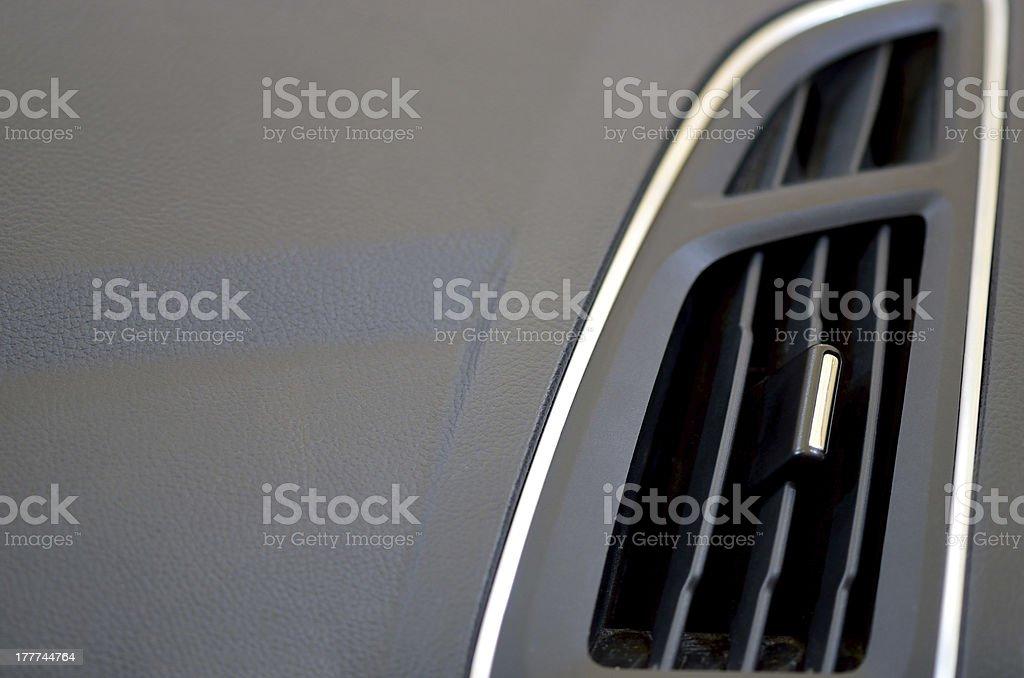 Car ventilation system royalty-free stock photo