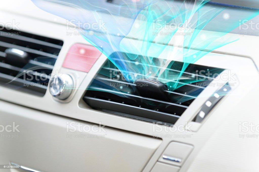 Auto sistema di ventilazione - foto stock