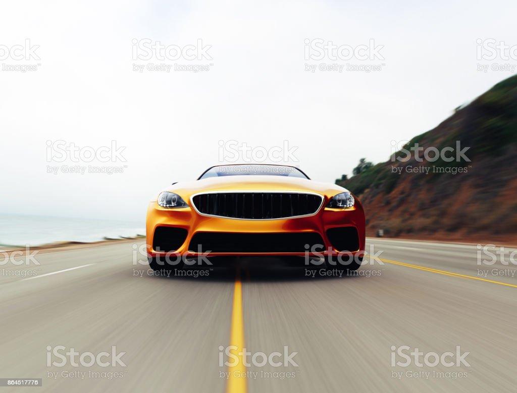 Car-Ansicht von Seite 3D – Foto