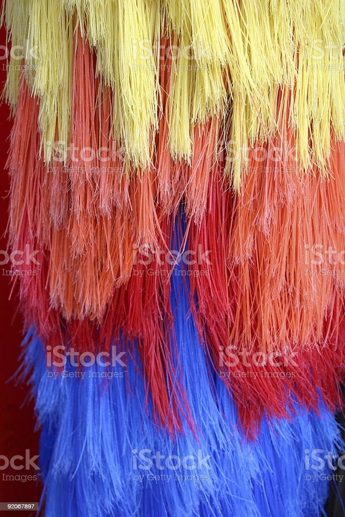 Car Wash Brushes Vertical royalty-free stock photo