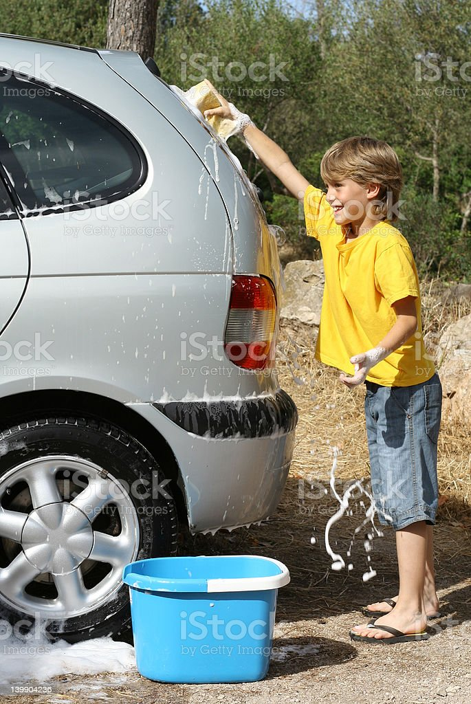 Car wash royalty-free stock photo