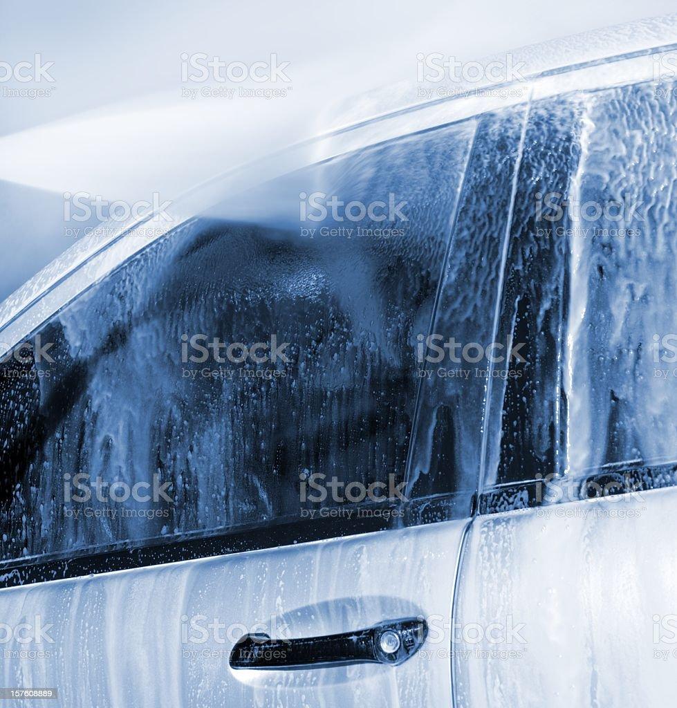 Carro de lavagem de pressão claener com - foto de acervo