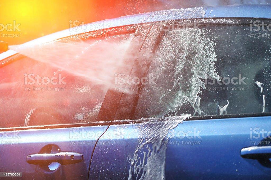Auto waschen – Foto