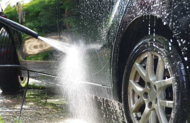Lavage de voiture  - Photo