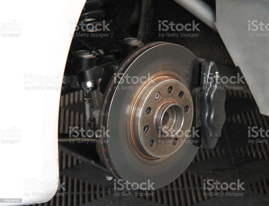 Car Wheel Brake. photo libre de droits