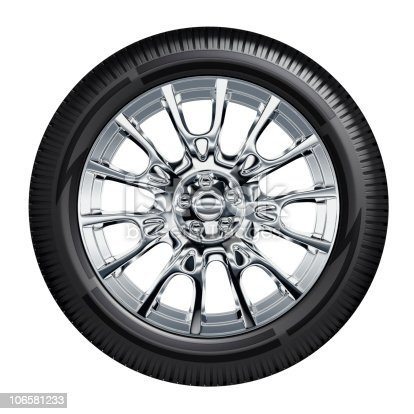 istock Car Wheel 106581233