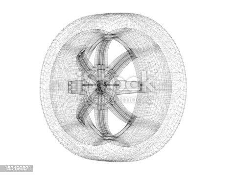istock Car Wheel 153496821