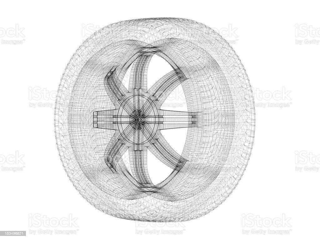 Car Wheel stock photo