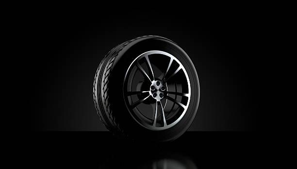 car wheel - wheel black background bildbanksfoton och bilder