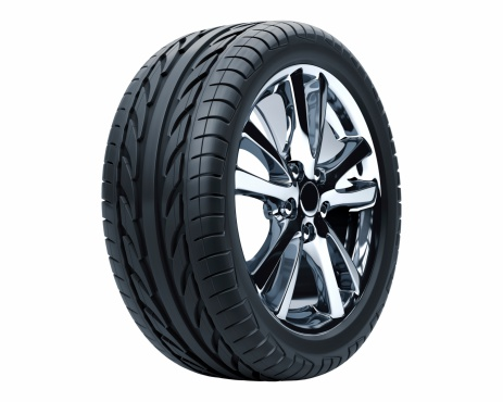 istock Car Wheel 95757561