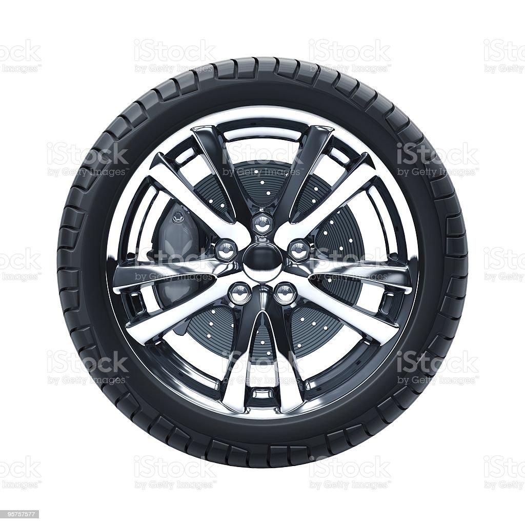 Car Wheel stock photo