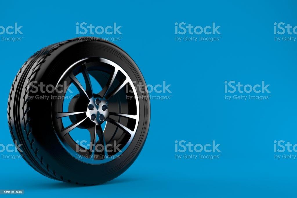 Auto wielen - Royalty-free Autoband Stockfoto