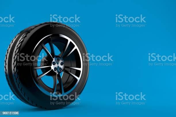 Bil Rullar-foton och fler bilder på Blå bakgrund