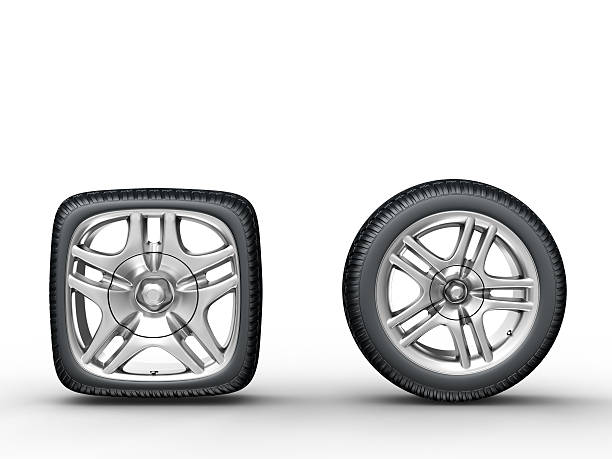 car wheels - square stock pictures, royalty-free photos & images
