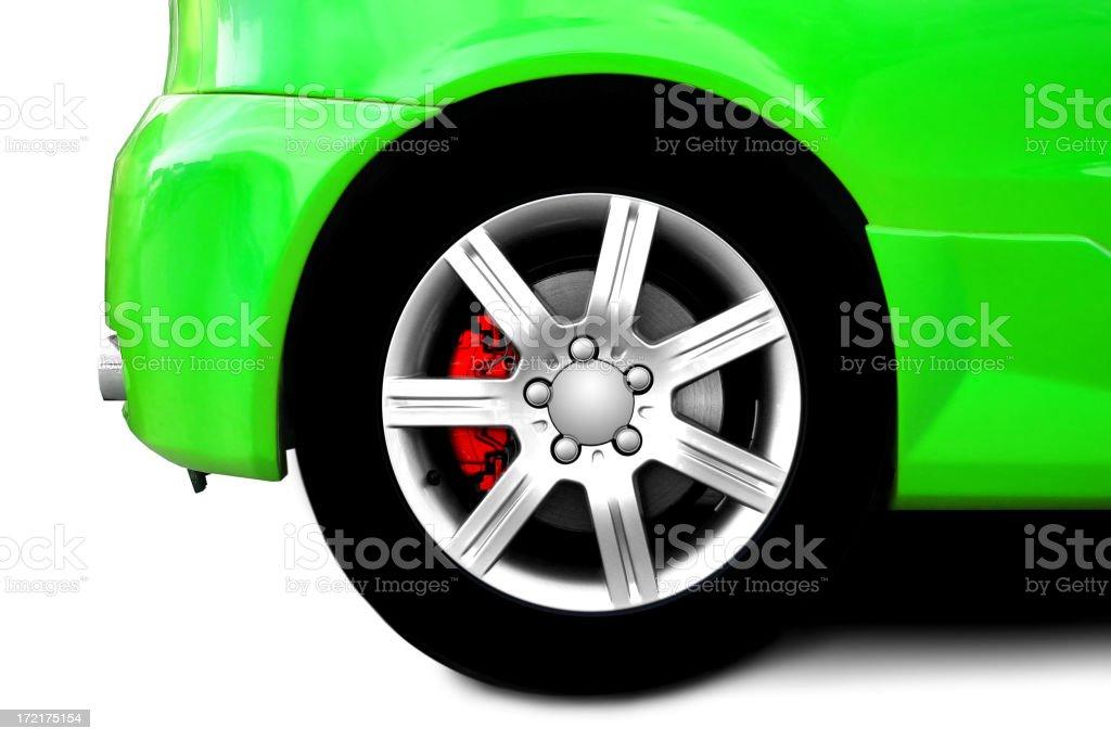car wheels royalty-free stock photo