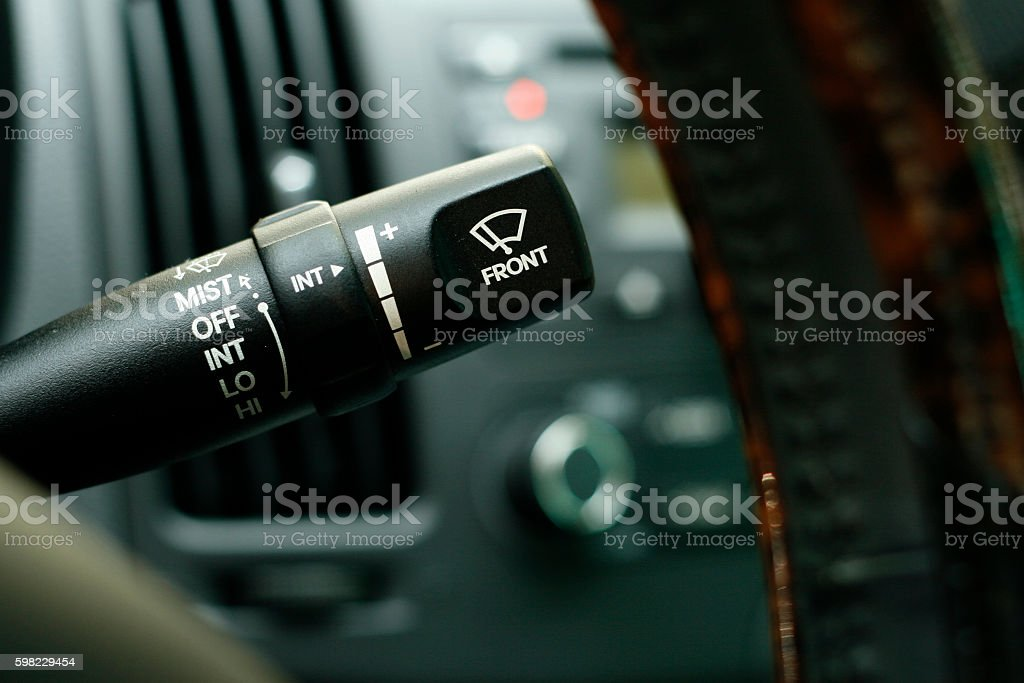 car wiper control rod foto royalty-free