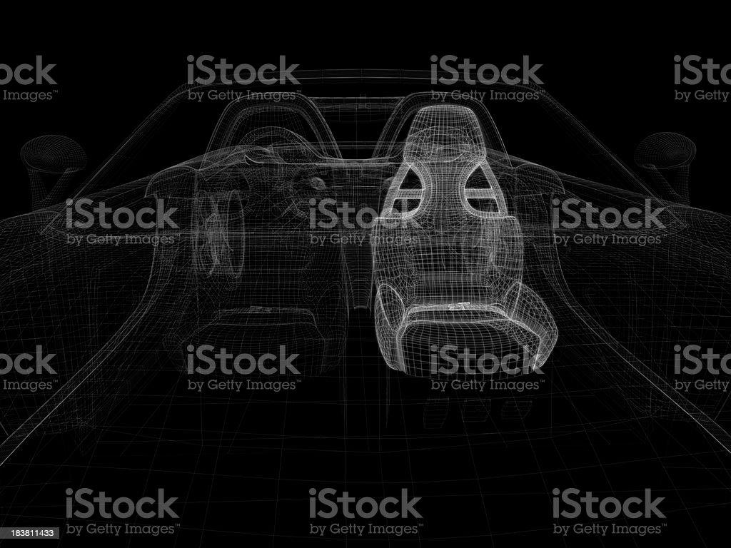 Auto Gitternetzlinien – Foto
