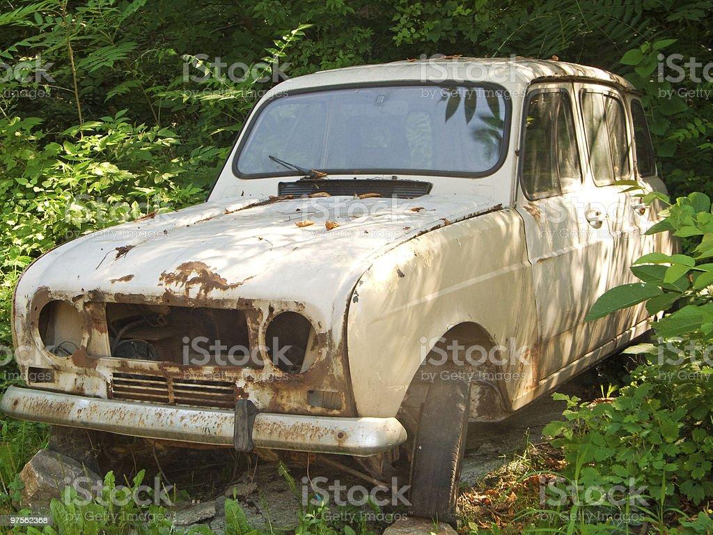 Épave de voiture photo libre de droits