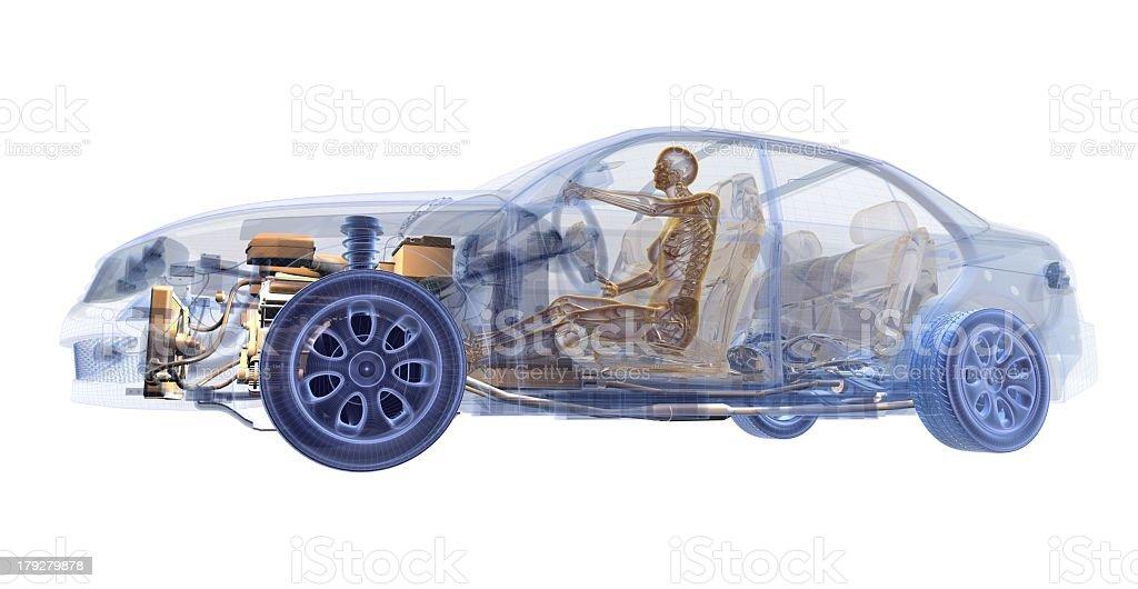 Auto Xray Stock-Fotografie und mehr Bilder von Anatomie | iStock