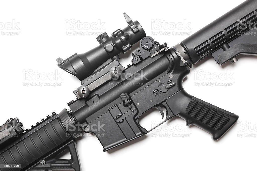 AR-15 carabine stock photo