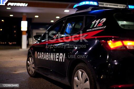 640042252 istock photo Carabinieri night activity 1203609460