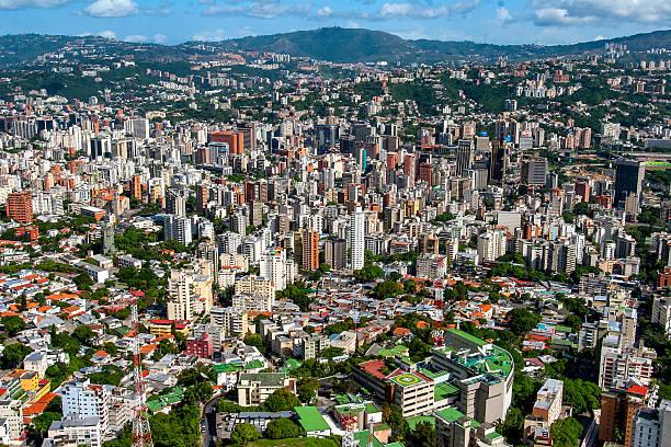 Caracas, Luftaufnahme – Foto