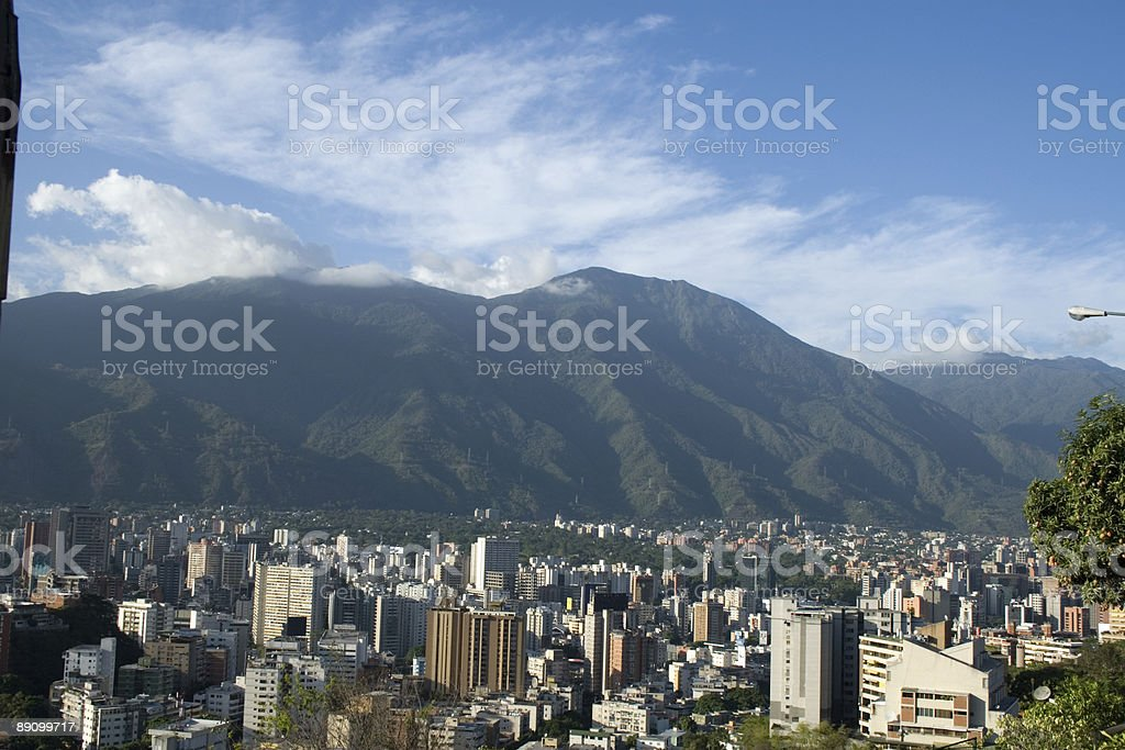 Caracas royalty-free stock photo
