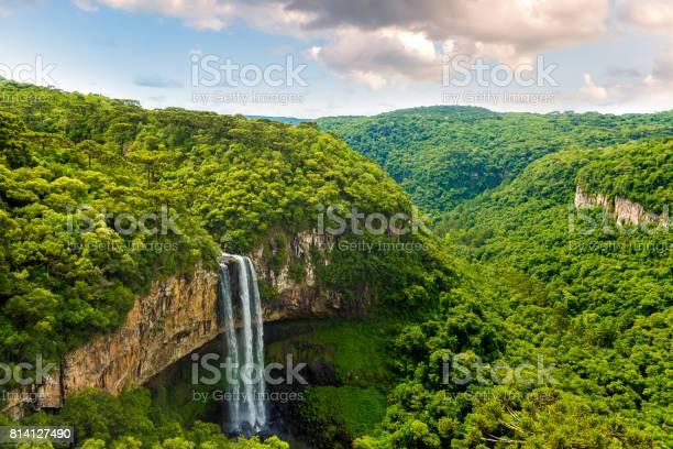Photo of Caracol falls in Canela, Rio Grande do Sul, Brazil