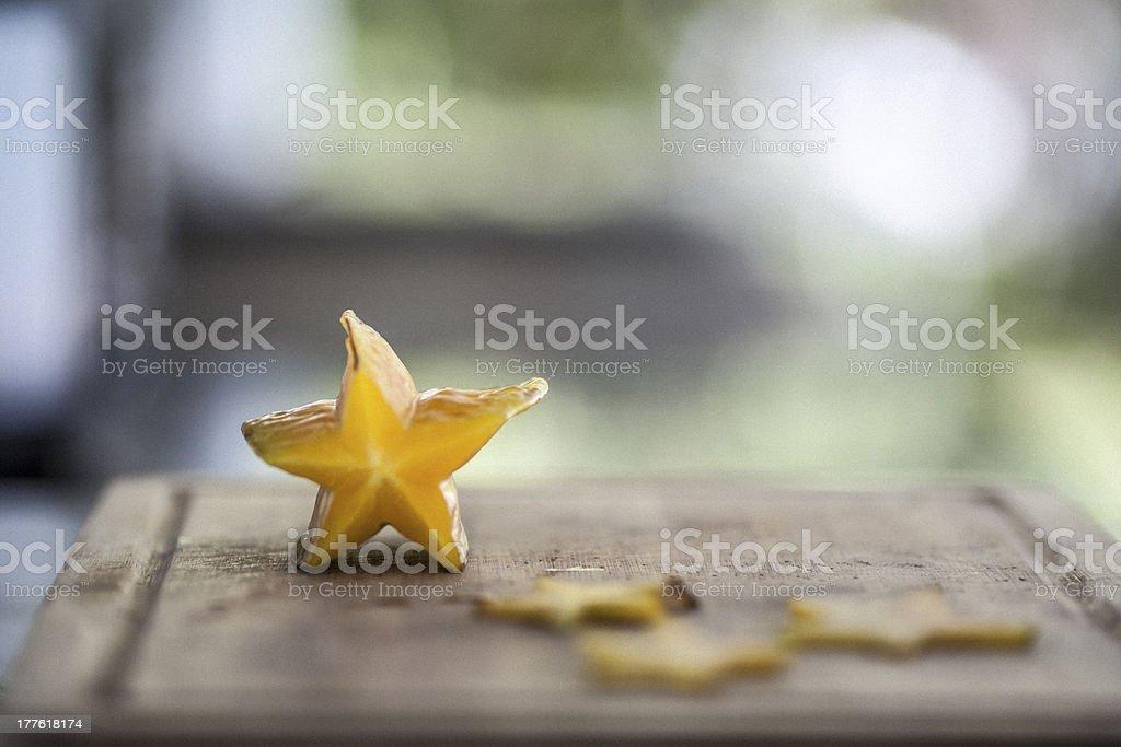 Carambola stock photo