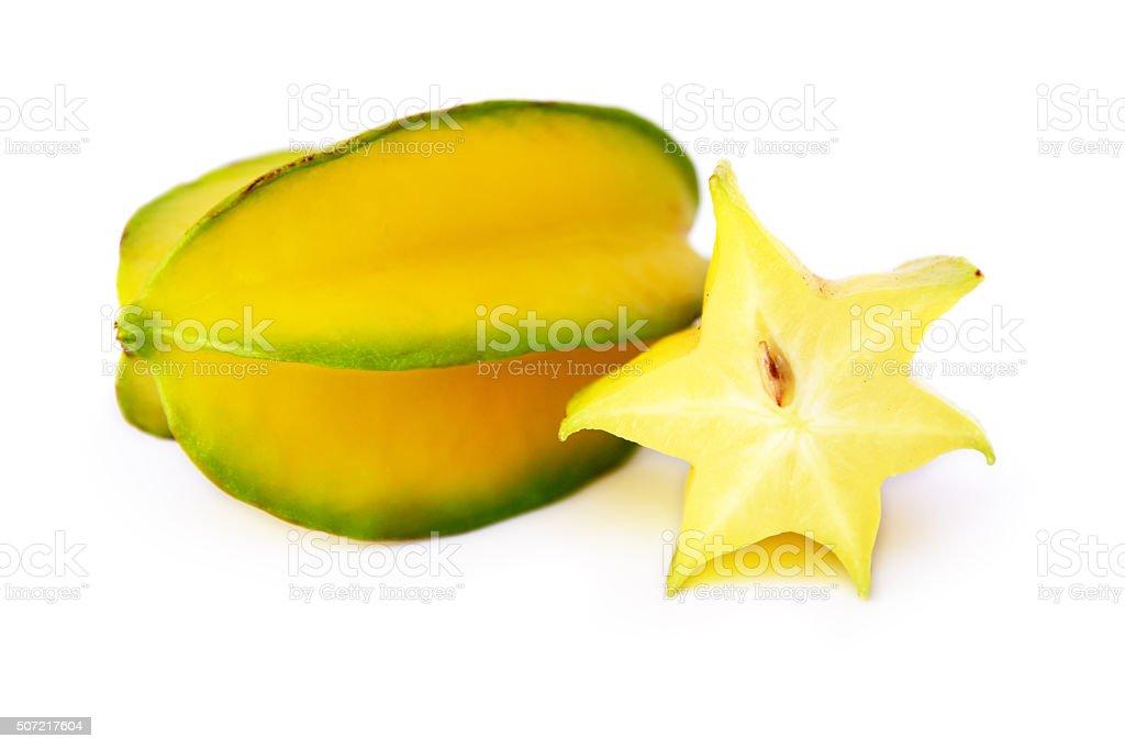 Carambola Star Fruits stock photo