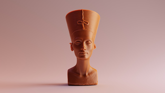 Caramel Bust of Nefertiti
