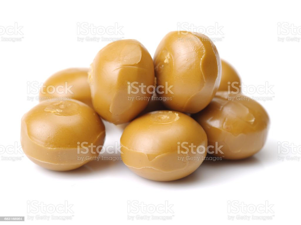 caramel candies isolated on white background royalty-free 스톡 사진