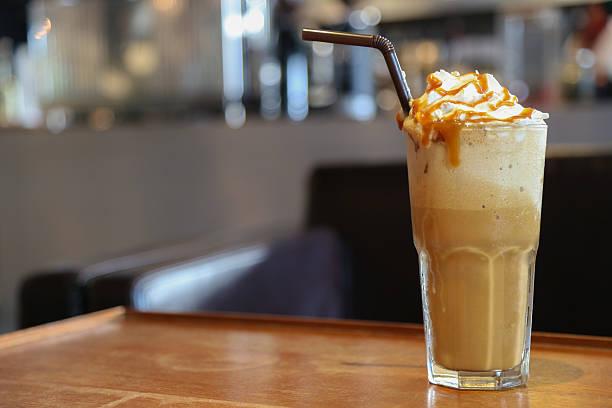 Caramel Café Cappuccino frappée - Photo