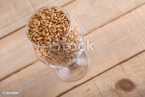 872334598 istock photo Caramel malt in a glass 513320558