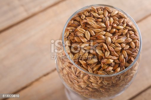 872334598 istock photo Caramel malt in a glass 513320610