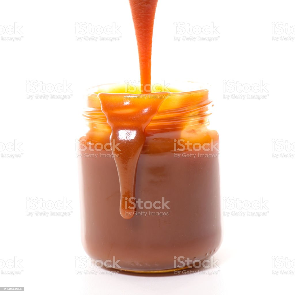 caramel stock photo