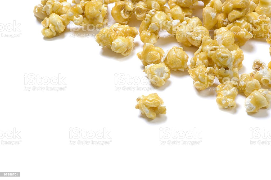 Caramel Popcorn royalty-free stock photo