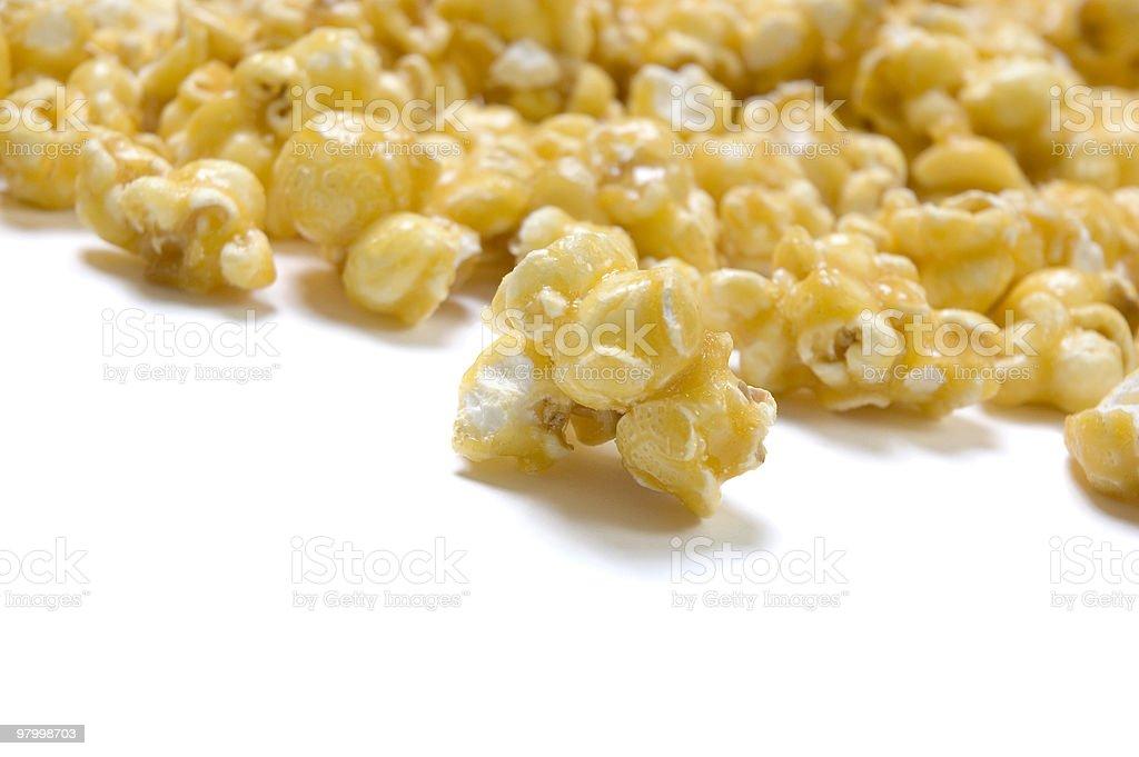 Caramel Popcorn royalty-free stock photo