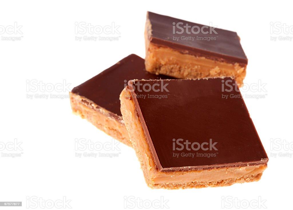 Sablés aux caramel photo libre de droits