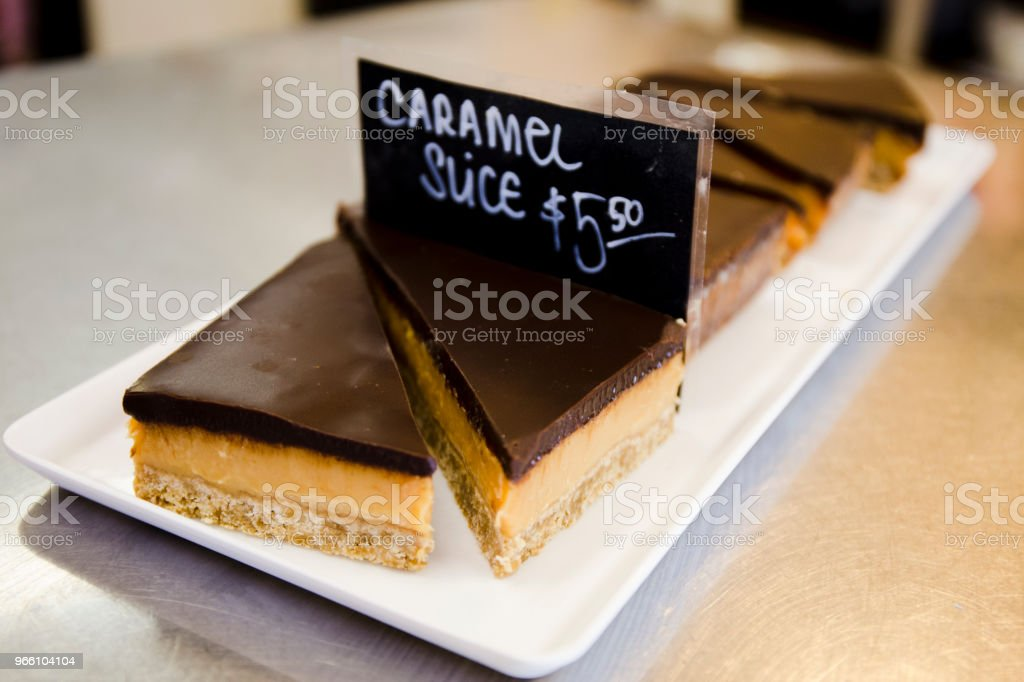 Caramel slices - Royalty-free Australia Stock Photo