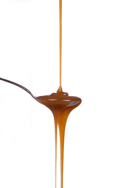 Caramel Syrup stock photo