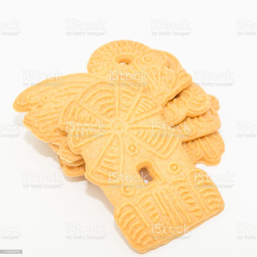 Caramelized Biscuitsspeculaas Spekulatius Stock Photo Download