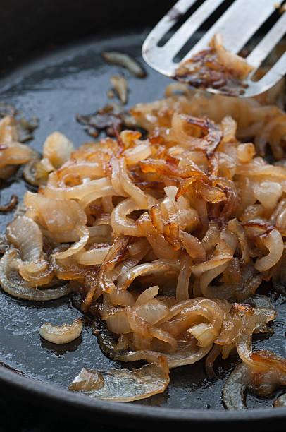 Caramelized Onion bildbanksfoto