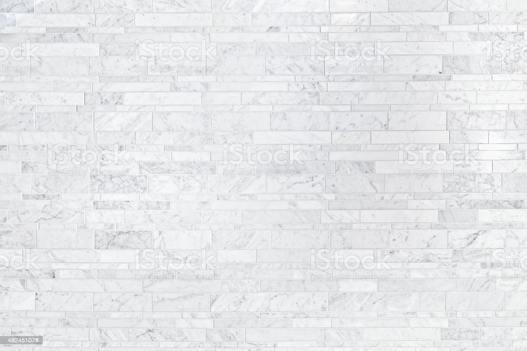 Cararra White Marble Tile Background Pattern Texture royalty-free stock  photo