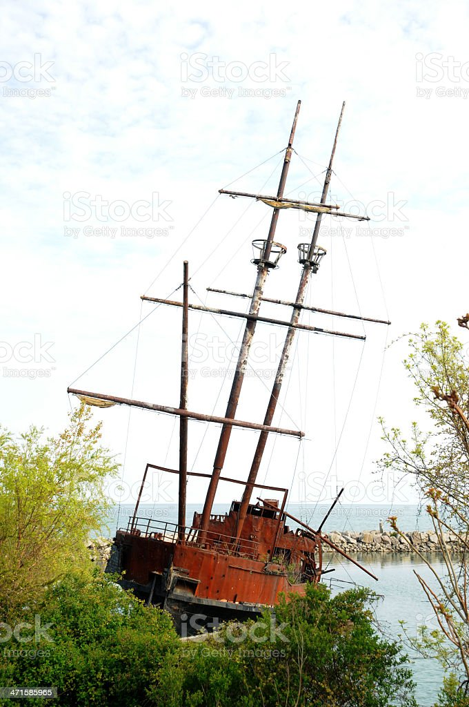 caravel royalty-free stock photo