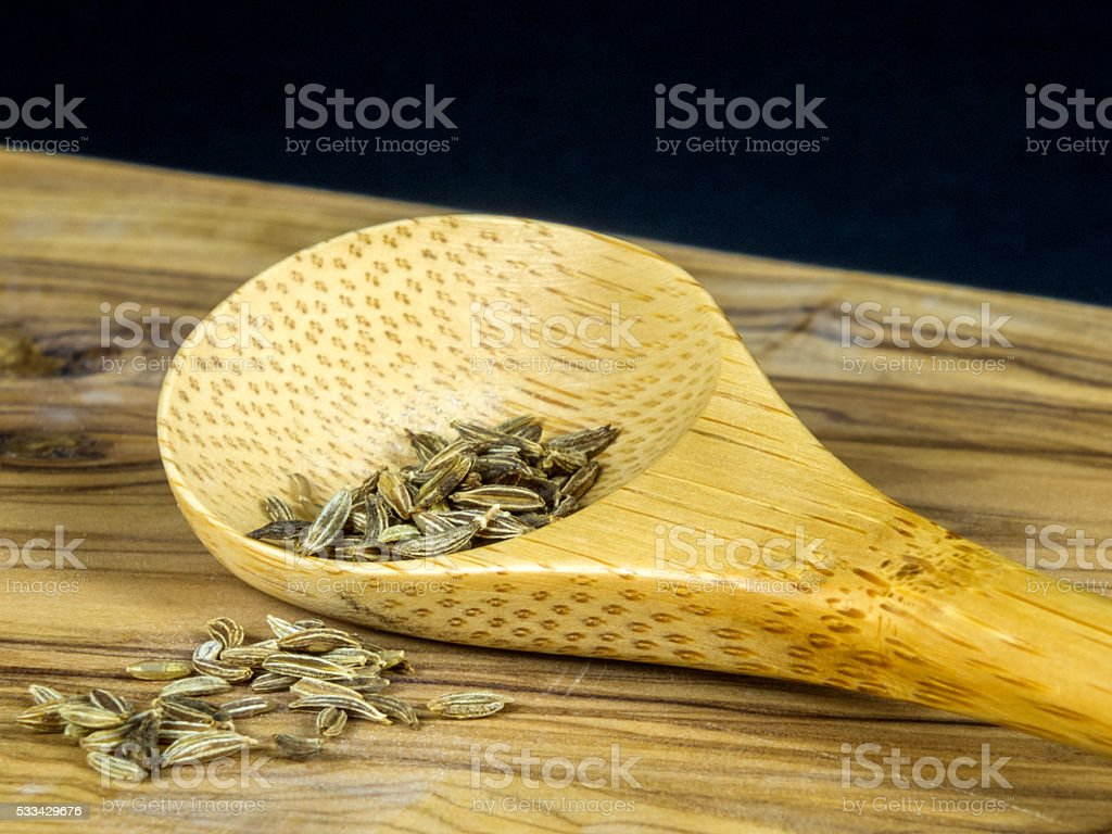 Caraway stock photo