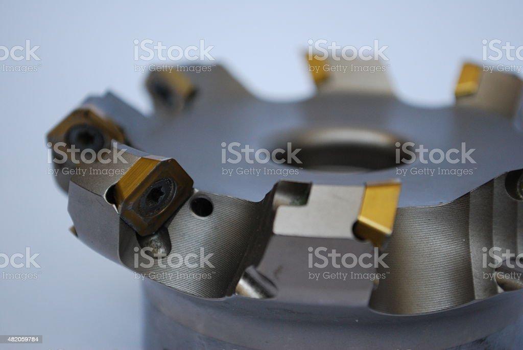 Hartmetall-Fräser - Lizenzfrei 2015 Stock-Foto