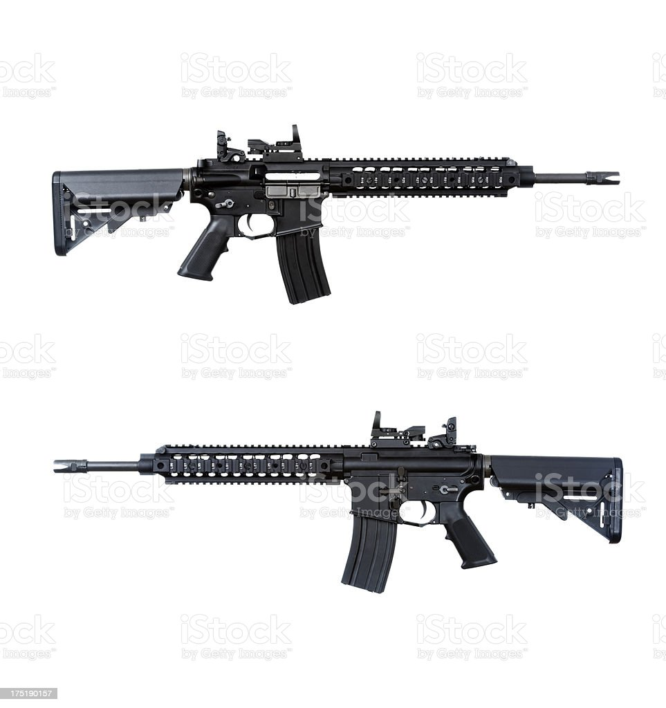 M4 carbine stock photo